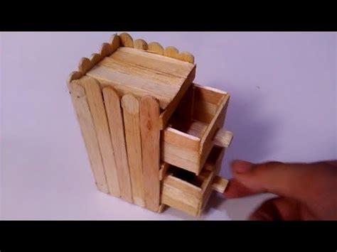 cara membuat rak buku dari stik es krim kerajinan tangan menggunakan stik es krim cara membuat
