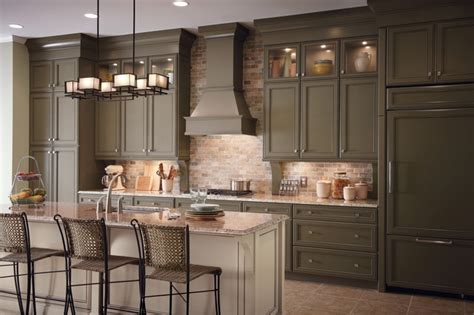 Kitchen In A Cabinet by Classic Traditional Kitchen Cabinets Style Traditional
