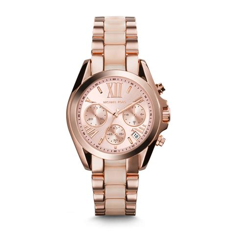 Michael Kors Ohrstecker Rosegold by Michael Kors Mini Bradshaw Acetate And Gold Tone