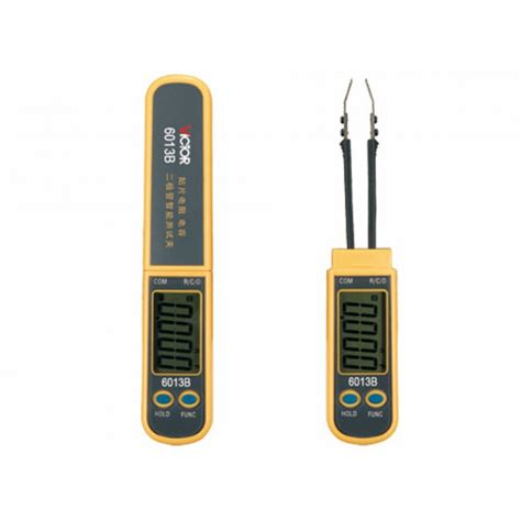 what is diode capacitance smd smart multimeter diode capacitance resistance meter vc6013b