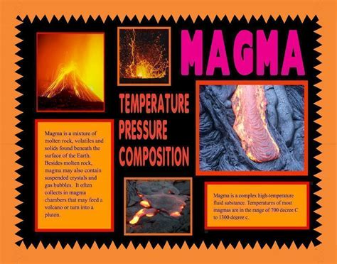 Lava L Science Fair Project by Make A Science Fair Poster Volcano And Lava Poster