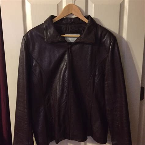 wine colored coat 88 wilsons leather jackets blazers wine colored