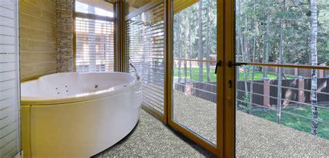 bad bodenbeläge fishzero steinteppich dusche geeignet verschiedene