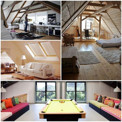 zimmergestaltung ideen und tipps fuer das umgestalten des dachbodenzimmers