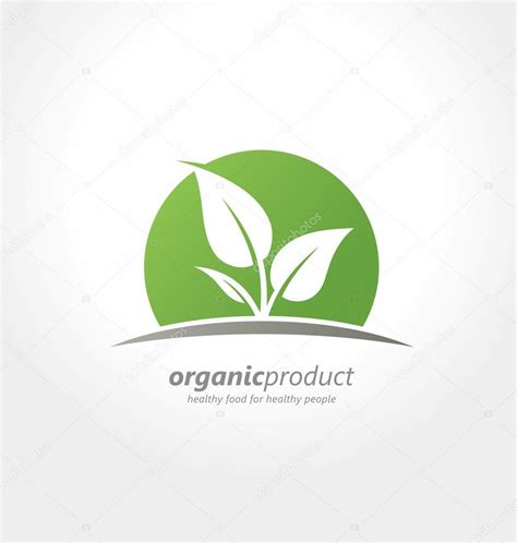 design a product logo organic product logo design idea healthy food for healthy