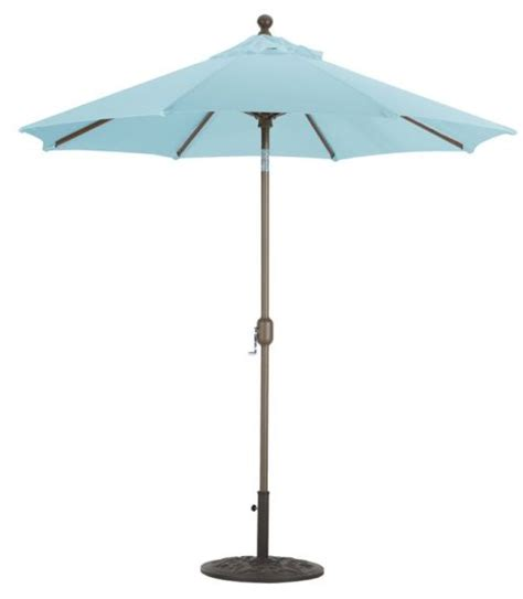 patio umbrellas that tilt 7 5 aluminum auto tilt patio umbrella