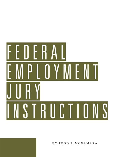 pattern jury instructions new york federal federal employment jury instructions