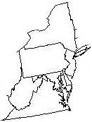 Mid Atlantic Outline Map by Meetings Bringing The Past To In Northern Virginia Since 2007