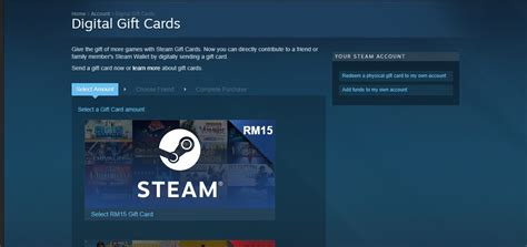 Who Sells Steam Gift Cards - steam introduces digital gift cards makes sharing easier lowyat net