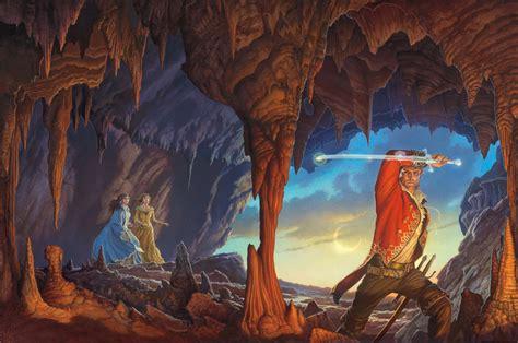 Michael Whelan S Cover Art For A Memory Of Light By Robert