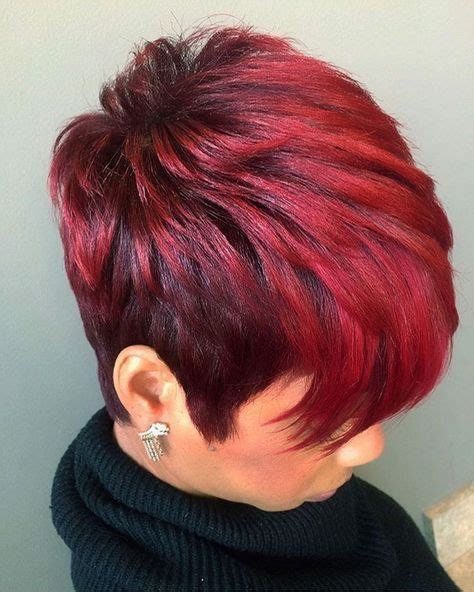 pictures of hair short hair cuts to make it seem thicker 25 best ideas about black pixie haircut on pinterest