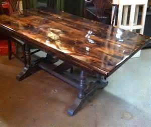 table en bois de grange et 233 poxy mgartr 233 cup
