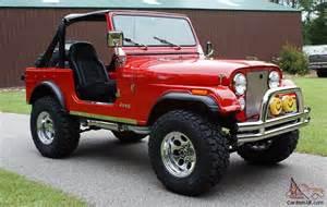 Restored Jeeps For Sale 1978 Jeep Cj7 4x4 Nut Bolt Rotiserrie Restored 304 V8