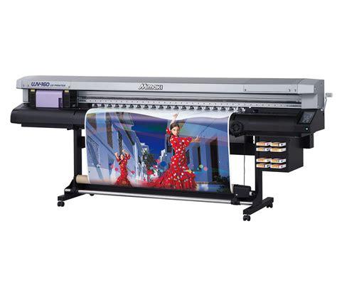 Printer Uv Led ujv 160 hybrid uv led inkjet printer