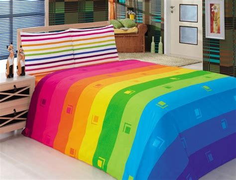 rainbow bedding rainbow bed suriya pinterest