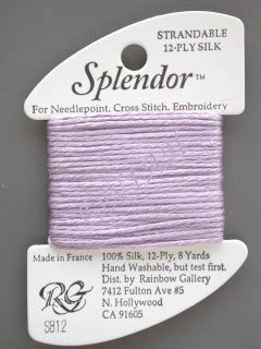 S824 Purple needle in a haystack thread inventory