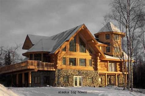 alaska log homes i don t that i would like living in