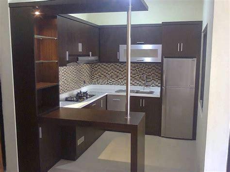 gambar model kitchen set mini keren mini bars desain
