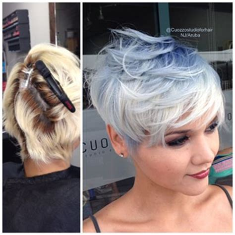 wella hair color formulas blue sky pixie rooted blonde ocean storm storms and crown