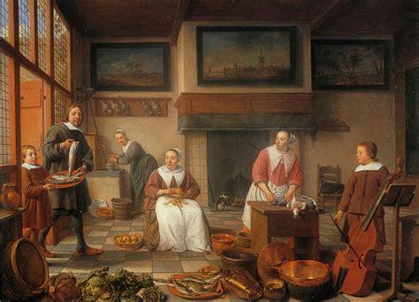 Interiors Kitchen hendrick martensz sorgh portrait of the bierens family