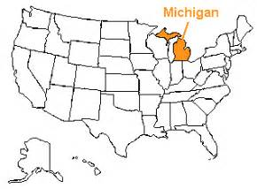 the us50 a guide to the state of michigan geography