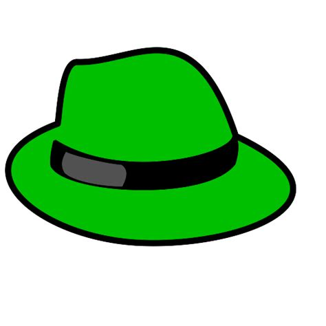 green hats images