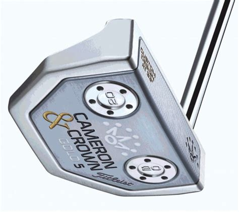 scotty cameron swing weight titleist rolls out new cameron crown putters by scotty