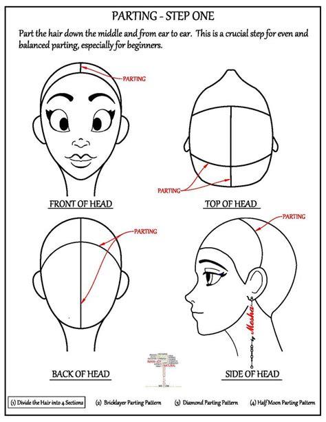 parting tutorial for braiding hair 1000 ideas about box braids tutorial on pinterest box