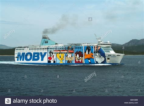 ferry boat cartoon olbia sardinia moby lines wonder ferry graphics depicting