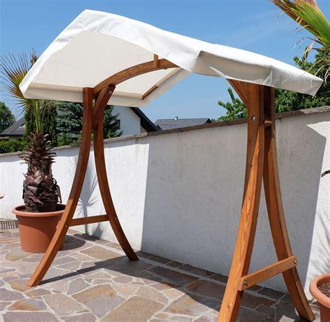 Hängematte Mit Gestell Dach by Design Hollywoodschaukel Gestell Quot Kuredo Aruba Quot Aus Holz