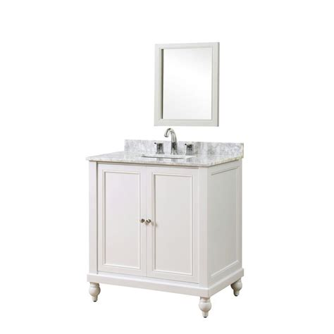 direct vanity sink classic 32 in vanity in pearl white