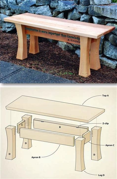 cedar bench plans 25 best ideas about garden bench plans on pinterest