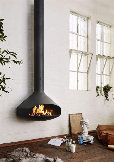 paxfocus wall hanging open fireplace oblica designer