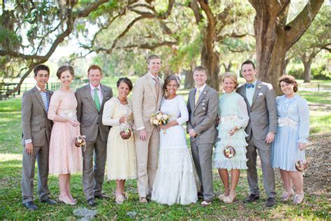 Vintage Wedding Attire by Vintage Handmade Southern Real Weddingvintage Handmade
