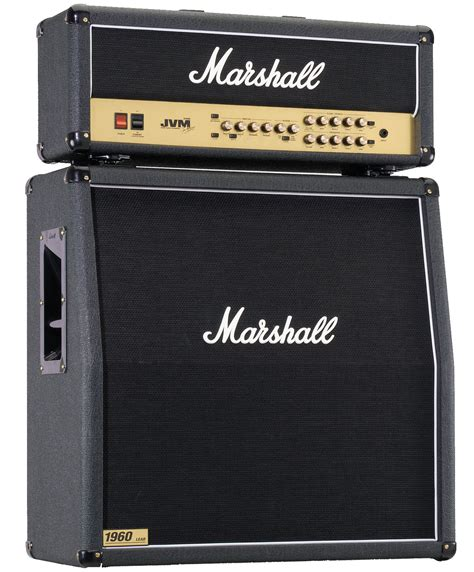 marshall head and cabinet marshall jvm guitar amplifier half stack zzounds