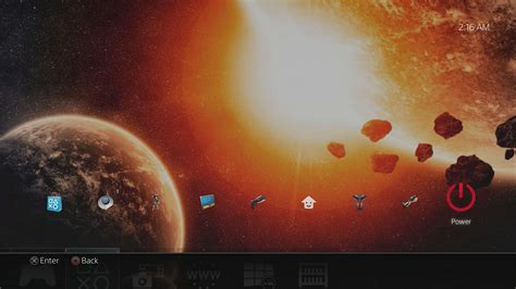 ps4 themes galaxy a dynamic galaxy cross dissolve theme on ps4 official