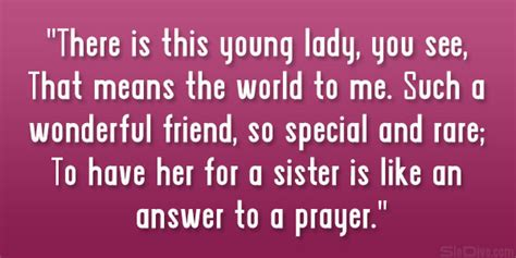 a cousin like sister quotes and sayings quotesgram