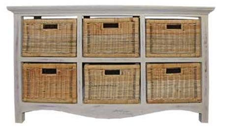 Chest With Wicker Basket Drawers by Chest 6 Drawer Rattan Baskets