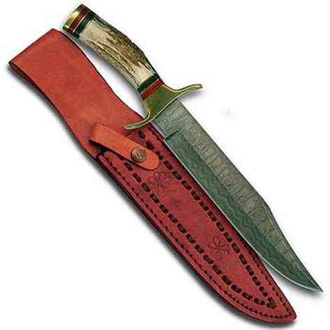 knives ebay damascus fighting bowie knife with sheath ebay
