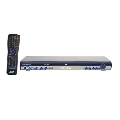 multi format dvd player with usb vocopro dvx 668 multi format usb dvd cd g karaoke player