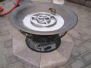how to build a propane pit clean burning outdoor firepits propane burner authority