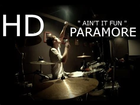 ain t it fun paramore paramore quot ain t it fun quot drum cover hd sean tighe