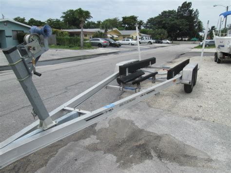 boat trailers for sale mobile al 23 foot wesco aluminum boat trailer sold the hull truth
