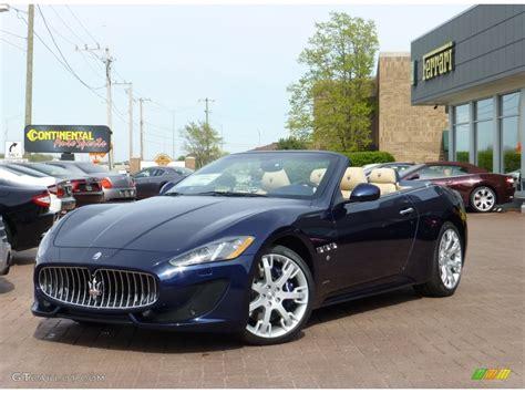 2013 Oceano Blue Metallic Maserati Granturismo