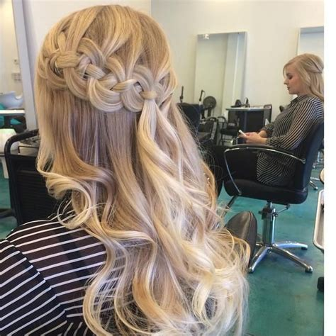hairstyles braided with curls prom posts my new hair