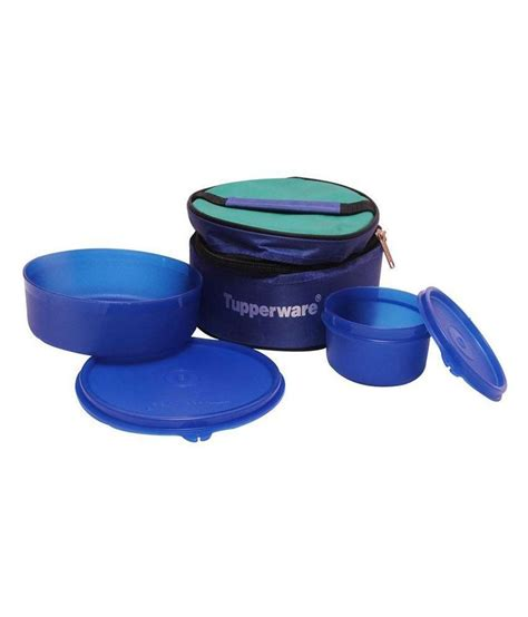 Tupperware Lunch Box tupperware blue classic lunch box with insulated bag buy