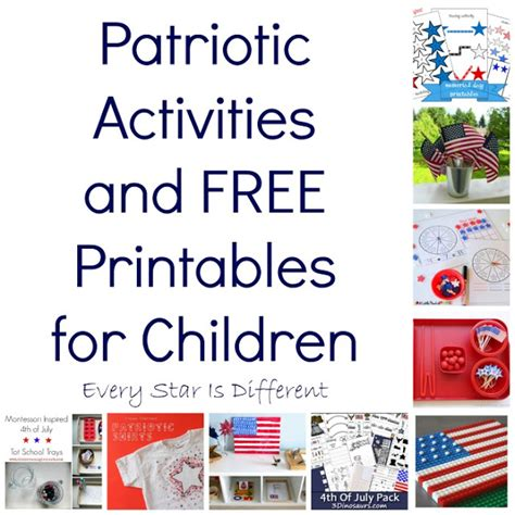 Win Something Different Every Day Before Memorial Day by Patriotic Activities And Free Printables For Children