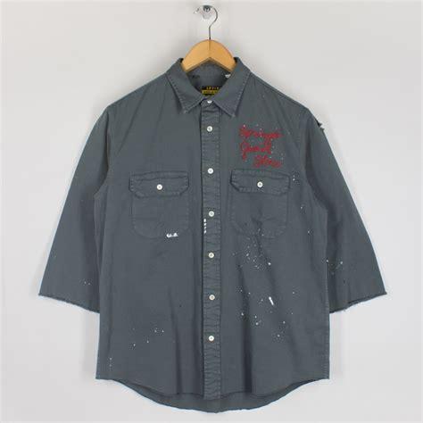 tab twill shirt custom green levi s vintage clothing