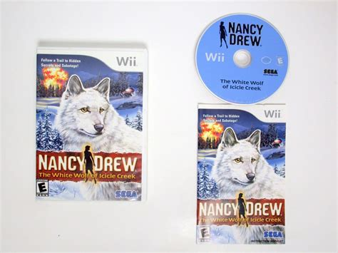 nancy drew the white wolf of icicle creek for wii