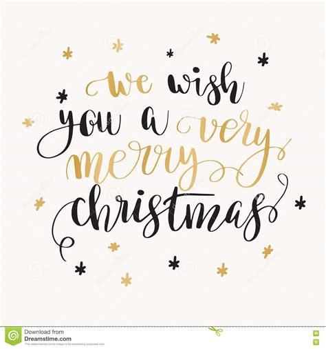 christmas greeting card  calligraphy stock illustration illustration  celebration